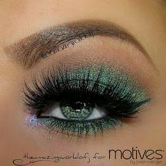 Motive to be Pretty #prom eye makeup