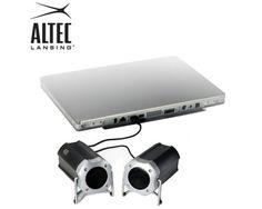 Altec Lansing Orbit Speakers for great sounds: http://www.bhaap.com/buy-altec-lansing-portable-orbit-stereo-usb-speaker-system-best-price-online-india.html