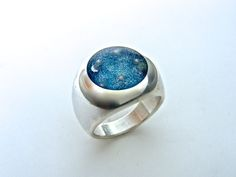 Silver Ring Resin