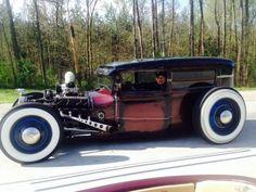 1930 Ford Model A Tudor Rat Rod