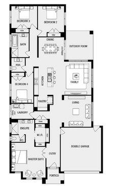 Denver  New Home Floor Plans  Interactive House Plans   Metricon    Fairhaven  New Home Floor Plans  Interactive House Plans   Metricon Homes   Melbourne