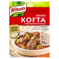 Knorr Wereldgerechten Griekse kofta