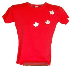 Canadian in T-shirt that is Made in Canada too!