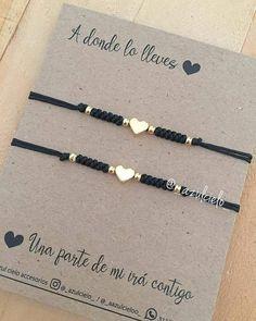 Diy Bracelets Easy, Couple Bracelets, Bracelet Crafts, Macrame Bracelets, Jewelry Crafts, Bead Jewellery, Beaded Jewelry, Jewelery, Handmade Jewelry