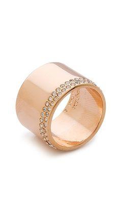 Vita Fede Cigar Crystal Band Ring