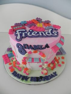 Image result for lego friends cake