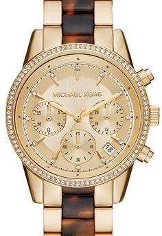 3e4a64958ecf Michael Kors Women s Ritz Chronograph Watch MK6322 - In Stock