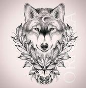 Full Arm Sleeve Tattoo, Wolf Tattoo Sleeve, Sleeve Tattoos, Tribal Sleeve, Chest Tattoo, Tattoo Girls, Cute Girl Tattoos, Music Tattoos, Body Art Tattoos