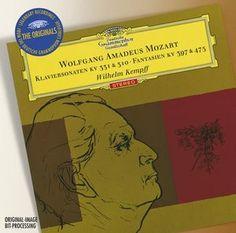 MOZART Piano Sonatas - Kempff - Deutsche Grammophon