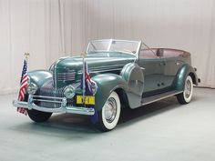 ◆1939 Chrysler Imperial Custom Parade Phaeton ~ This car was originally built for the 1939 New York World's Fair as its official greeting and parade car◆