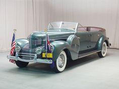 1939 Chrysler Imperial Custom Parade Phaeton ~ This car was originally built for the 1939 New York World's Fair as its official greeting and parade car.....