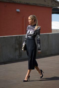 Street Style From Australian Fashion Week - HarpersBAZAAR.com