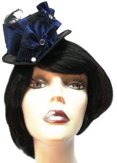 Blue Belle Mini Gothic Lolita Victorian by JenkittysCloset on Etsy, $30.00