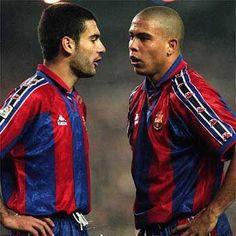 Guardiola & Ronaldo. El Filosofo & El Fenomeno