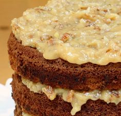 German Chocolate Cake 2