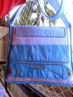 DeCoração - Márcia Reis Patchwork: Bolsa Kombi - Campervan Bag
