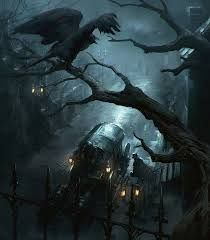 Image result for sci fi art crows