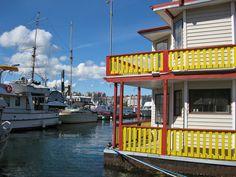 Fisherman's Wharf, Victoria, British Columbia    From: http://www.dangerous-business.com