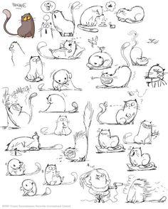 """le vide-grenier de Polyminthe: More development on """"Little Rikke"""" Het leven van een kat:"""