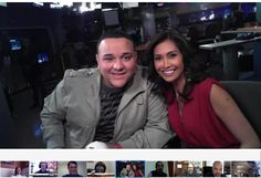 American Idol Top 13 Finalist, Jeremy Rasodo visits the MY FOX LA studios during a Google+ Hangout with Maria Quiban & @Shaka Armstrong