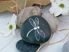 Dragonfly+Engraved+Stone+by+JustinRVisser+on+Etsy