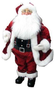 "[h1]Jacqueline Kent Red Standing Santa 23""[/h1]"