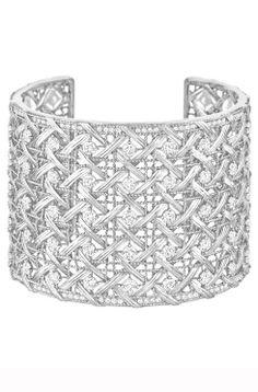 Best Diamond Bracelets : My Dior Cuff :: Harrods Fine Jewellery - Fashion Inspire Dior Jewelry, Rose Jewelry, Luxury Jewelry, Modern Jewelry, Jewelery, Fashion Jewelry, Jewelry Box, Vivienne Westwood, Cartier