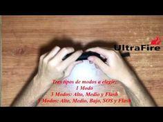 UltraFire U-X8 - YouTube