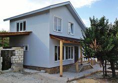 Дом из СИП-панелей с отделкой