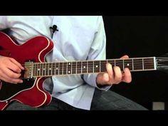 Blues Rhythm Guitar Lesson - Key of E - YouTube