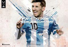 Adidas niega el interés por influir en que Messi cambie de equipo