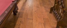 Handscraped reclaimed Heart Pine, love this for hall and livingroom