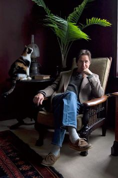 Dan Fogelberg. He had his ashes scattered along with the ashes of his favorite cat.