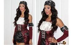 Sexy Pirate Halloween Hair Tutorial