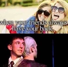 When your friends always have your back  QUIRRELL + VOLDEMORT