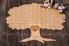 Hey, I found this really awesome Etsy listing at https://www.etsy.com/listing/187623931/custom-wooden-wedding-guestbook-tree