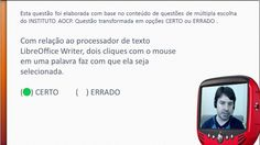 Concurso PM CE 2016 Polícia Militar do Ceará - Questão de Informática - ...