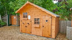 Treat your kids this summer. Have a look at our vast range of children's playhouses, all at amazing prices. Outdoor Buildings, Outdoor Structures, Wooden Playhouse, Playhouses, Sheds, Range, Cabin, Children, Amazing