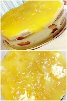 Γλυκό ψυγείου με κρέμα πορτοκάλι !!! ~ ΜΑΓΕΙΡΙΚΗ ΚΑΙ ΣΥΝΤΑΓΕΣ Pudding Desserts, Sweets Cake, Confectionery, Deserts, Cream, Recipes, Food, Trifles, Puddings