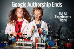 Google ends its Google Authorship Experiment