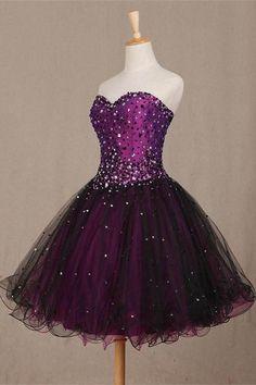 Lace Prom Dresses #LacePromDresses, Short Prom Dresses #ShortPromDresses