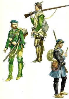 British colonial rangers Seven Years War