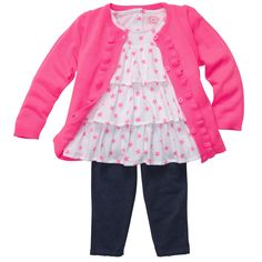 playful in pink - toddler