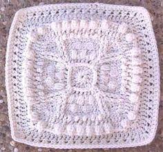 Marlo's Crochet Corner - Iron Cross Square - Free Crochet Pattern