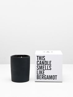 Bergamot scented candle by A.OK | Oak