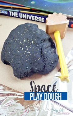 Our new favorite is this Outer Space Inspired Play Dough Recipe. It is easy to make, has a fun color & sparkle, and can lead to fun activities all about outer space! Outer Space Activities for Kids Space Activities For Kids, Space Preschool, Preschool Crafts, Fun Activities, Outer Space Crafts For Kids, Preschool Cooking, Kindergarten Activities, Fun Games, Space Projects