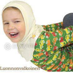 Wool hood, merino wool - Children's clothing - Merino wool clothes - Myllymuksut