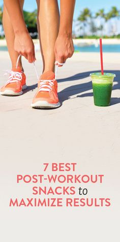 7 post-workout snacks to maximize results