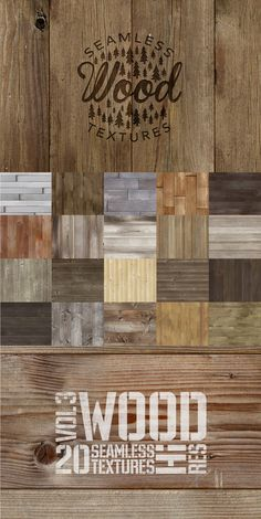 Wood Texture Pack 2 by AmethistLab