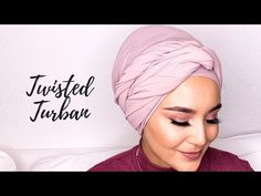 I am back with a further turban tutorial which can be used in everyday life as well as for occasions. Here I used a regular size hijab from inayah (. Hijab Turban Style, Tie A Turban, Head Turban, Head Scarf Tutorial, Turban Tutorial, Hijab Tutorial, African Head Scarf, Hijab Fashion Inspiration, Style Inspiration